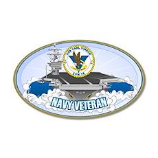CVN-70 USS Carl Vinson 22x14 Oval Wall Peel