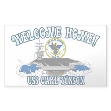 Welcome Carl Vinson! Decal