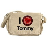 I Love Tommy Brothers &amp; Sisters Messenger Bag