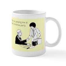 Christmas Party Groping Mug