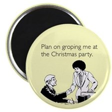 Christmas Party Groping Magnet