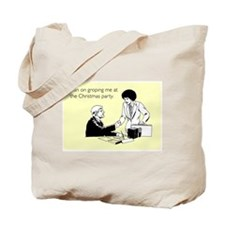 Christmas Party Groping Tote Bag