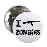 "I Shoot Zombies 2.25"" Button"