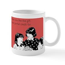 Partial Credit Gift Mug
