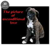 Unconditional Love boxer pup Puzzle