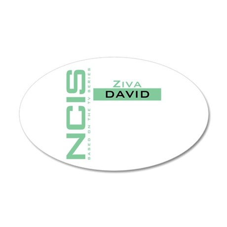 NCIS Ziva David 22x14 Oval Wall Peel