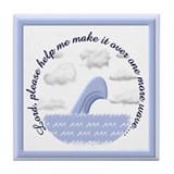 Wave Prayer (Drawing) Tile Coaster