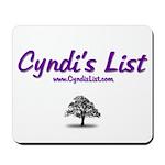 Cyndi's List Mousepad