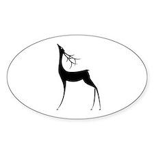 Elegant Reindeer Games Decal