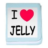 I heart jelly baby blanket