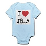 I heart jelly Infant Bodysuit