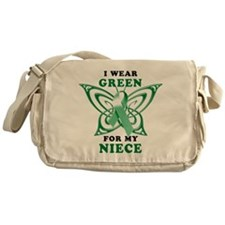 I Wear Green for my Niece Messenger Bag