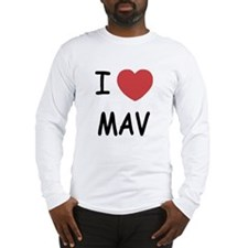 I heart mav Long Sleeve T-Shirt