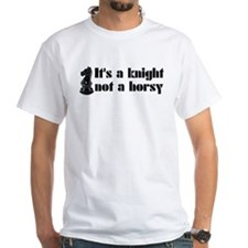 Knight Not A Horsy Chess Shirt