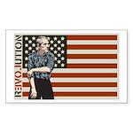 Ron Paul Sticker (Rectangle)