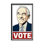Vote Ron Paul Sticker (Rectangle)