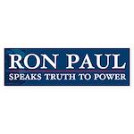 Ron Paul Speaks Truth Sticker (Bumper 50 pk)