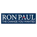 Ron Paul 2012 Sticker (Bumper)