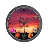 Tierra Del Sol Sunset Wall Clock