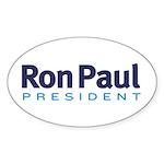 Ron Paul 2012 Sticker (Oval 50 pk)