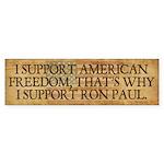 Ron Paul 2012 Sticker (Bumper 10 pk)