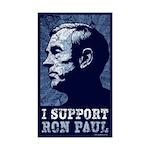 Ron Paul Rectangle Sticker 50 pk)