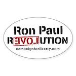 Ron Paul Oval Sticker (10 pk)