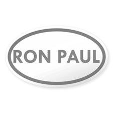 Ron Paul Oval Sticker (50 pk)