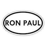 Ron Paul Oval Sticker (50 pk)