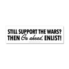 Cute Anti war antiwar anti war Car Magnet 10 x 3