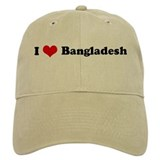 I Love Bangladesh Baseball Cap