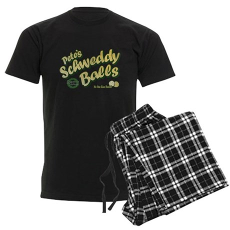 Schweddy Balls SNL Mens Dark Pajamas