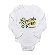 Schweddy Balls SNL Long Sleeve Infant Bodysuit