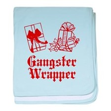 Gangster Wrapper baby blanket