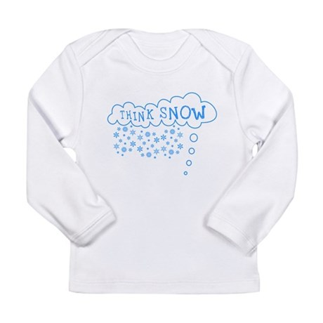 Think Snow Long Sleeve Infant T-Shirt