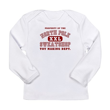 Property of the North Pole Long Sleeve Infant T-Sh