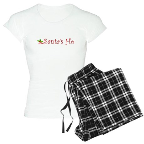 Santa's Ho Womens Light Pajamas