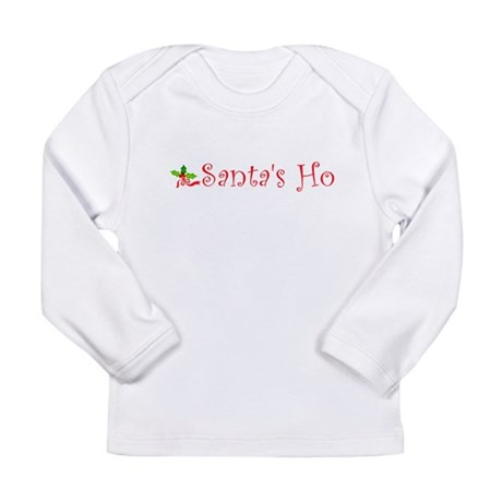 Santa's Ho Long Sleeve Infant T-Shirt