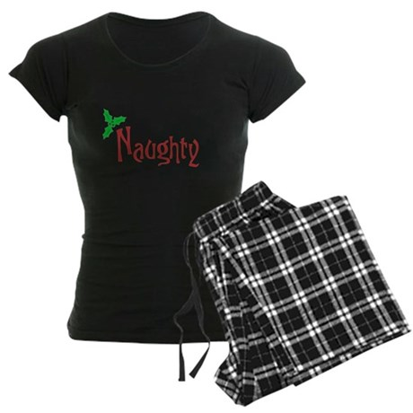 Naughty Womens Dark Pajamas