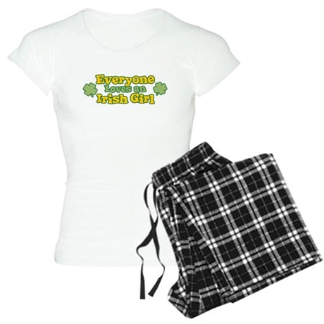 Irish Girl Womens Light Pajamas