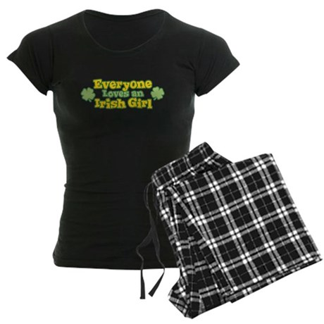 Irish Girl Womens Dark Pajamas