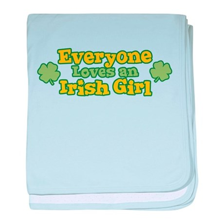 Irish Girl baby blanket
