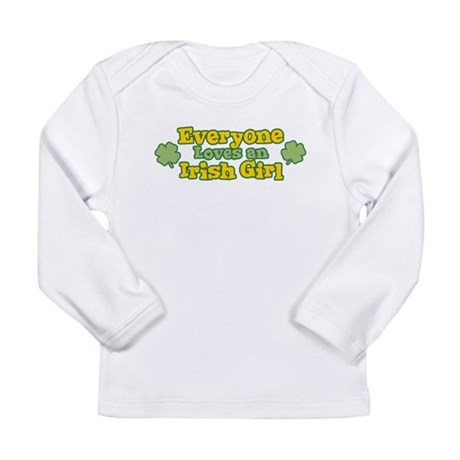 Irish Girl Long Sleeve Infant T-Shirt