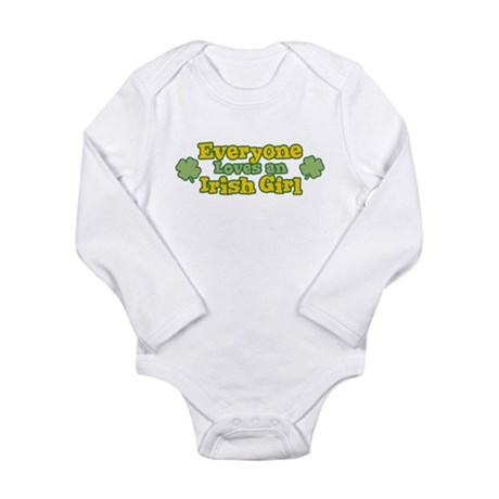 Irish Girl Long Sleeve Infant Bodysuit