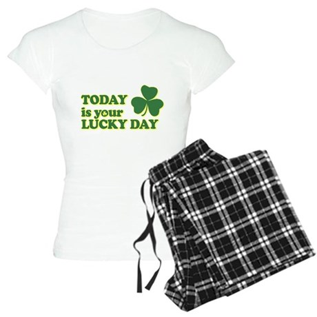 Today Is Your Lucky Day Womens Light Pajamas
