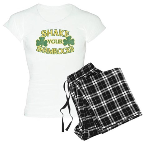 Shake Your Shamrocks Womens Light Pajamas