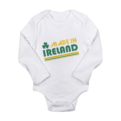 Made In Ireland Long Sleeve Infant Bodysuit