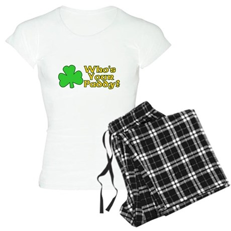 Who's Your Paddy? Womens Light Pajamas