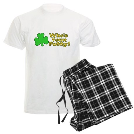 Who's Your Paddy? Mens Light Pajamas