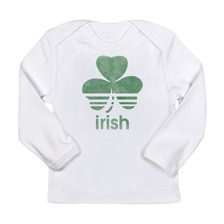 Vintage Irish Logo Long Sleeve Infant T-Shirt